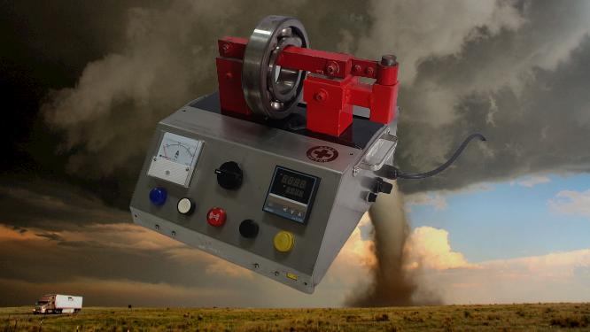 Tornado Bearing Heater 2.8 kVA. by SAVEMOTOR