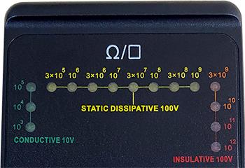 AE-780 เครื่องทดสอบความต้านทานไฟฟ้าพื้นผิว Surface Resistance Meter